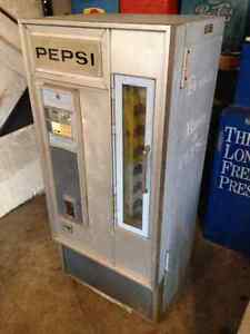 1960's - 1970's style  upright Pepsi cooler