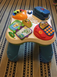 Infant/toddler activity table