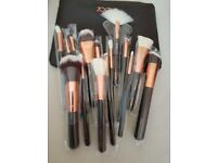 Zoeva 15 piece makeup brushes set