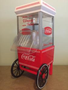 Coca cola popcorn machine