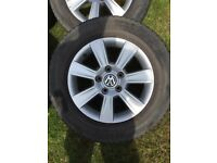 "T5 Alloy Wheels 16"" VW T5 Transporter"