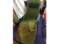 Reflexology/ pedicure chair with removable and washable towelling cover