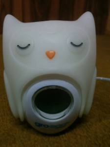 Gro Egg Thermometer with Owl Cover