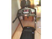 Pro fitness with speaker treadmill