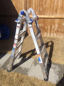 Werner Telescoping Multi-Purpose 17' Ladder (Mint Condition)