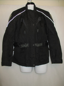 XXL (fits more like L-XL) Motorcycle Jacket 3M Waterproof