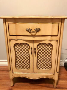 Antique Cabinet/ Side table