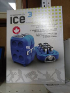 P3 6 can ice pack - water bottle combination - NEW
