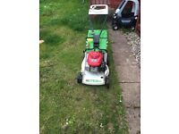 Honda lawnmower etesla starts first time