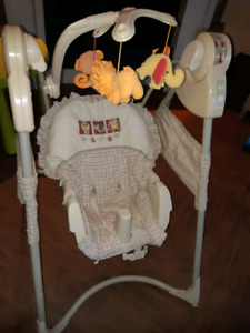 Chaise balancoire Fisher Price