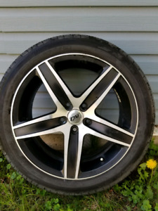 Rims with michelin summer tires