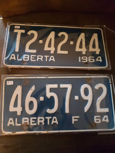 Collectable license plates