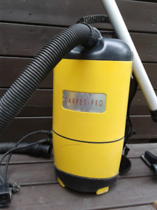used commercial Carpet Pro backpack vacuum