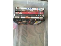 Action and comedy Dvd's