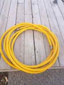 50 feet of flexible gas line