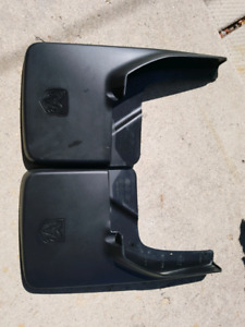 Dodge ram rear mud flaps