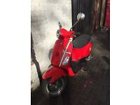 Piaggio Vespa LX50cc 2-Stroke ET2 zip primavera