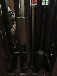 Oak Mission's Grandfather Clock case only London Ontario image 4