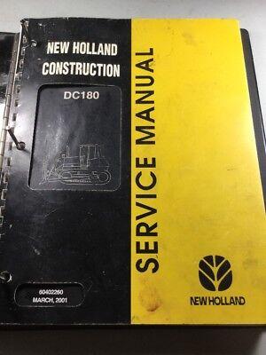 New Holland Dc180 Crawler Dozer Service Manual