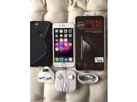 iPhone 6 16GB Silver Unlocked Excellent/Mint Condition
