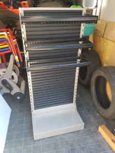 Metal shelf unit. CHEAP