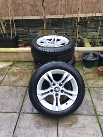 BMW 3 series e90--e91 alloy wheel set