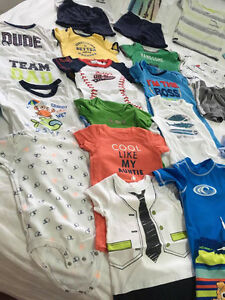 37pieces used BOYS SUMMER CLOTHES 18MONTHS EXCELLENT CONDITION Kitchener / Waterloo Kitchener Area image 3