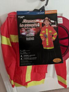 Halloween fireman costume