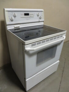 ~~~Used (Whirlpool) Smooth Top Self-Clean Stove