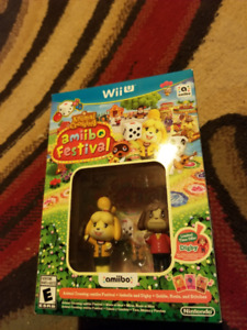 Isabelle Smash Amiibo + Wii U  Game AR cards and more!