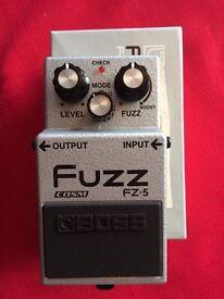 Boss FZ-5 effects pedal