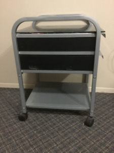 Small rolling storage cart