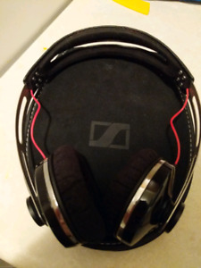 Sennheiser over the ear headphones