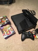 Xbox 360 with Kinect and Kids Games