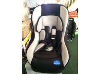 Car seat baby start