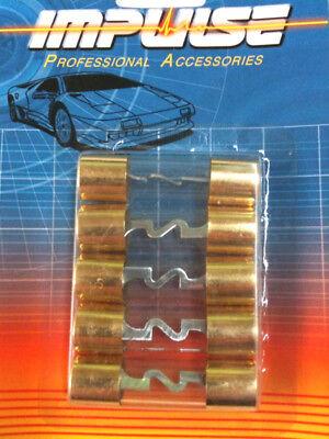 IMPUSE 5PK 100 AMP AGU GLASS FUSE GOLD PLATED TERMINAL CAR STEREO AMP