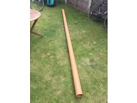 Length of 100mm Drain Waste Pipe