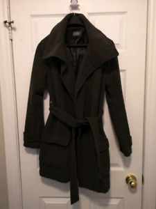 Large wool maternity jacket