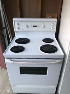 Ge fridge and stove for sale
