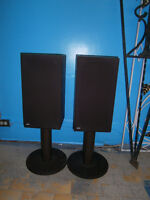 B&W DM10  Speakers with integrated stand