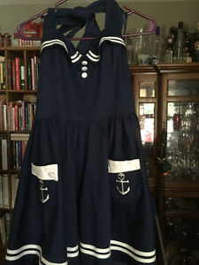 Sailor Style Dress from Hot Topic