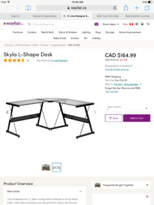 Desk for students or office