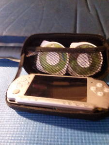 Psp #2001 Silver Lightly used No battery comes with charger