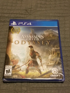 Assassins creed odyssey ps4 new sealed