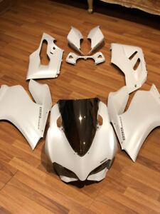 Ducati panigale 899 2014 OEM fairing kit complet arctic white