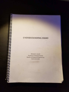 NATS 1560 Understanding Food - EXCELLENT CONDITION !!!