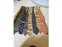 Job lot of ties