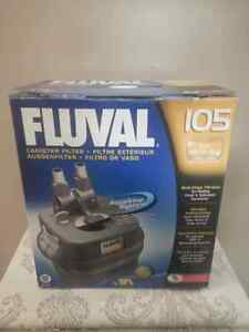 Fluval 105 filter (never been used)