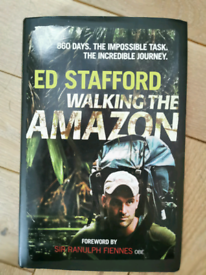 Rare SIGNED new Ed Stafford Walking the Amazon Book