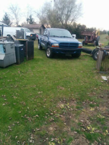 Selling my two dodge Dakota was a project csnt afford it no more
